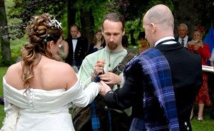 celtic weeding